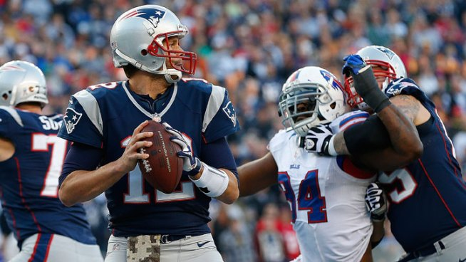 Pats Hold On To Beat Bills, 37-31