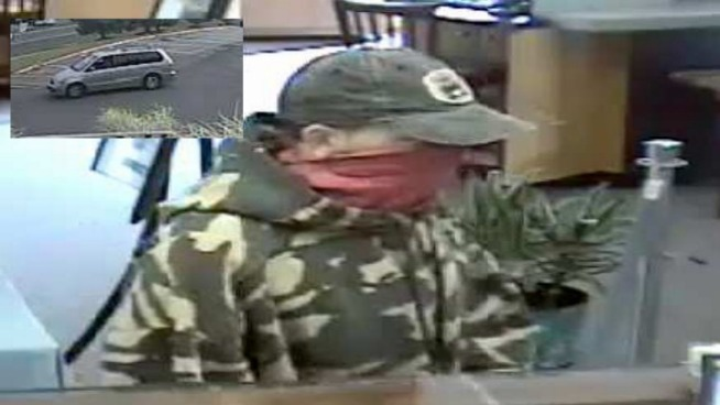 Police Look for Watertown Bank Robber