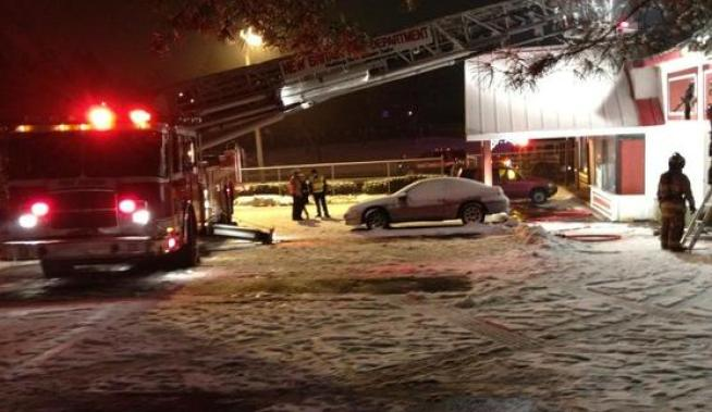 2-Alarm Fire at Pizza Restaurant in New Britain