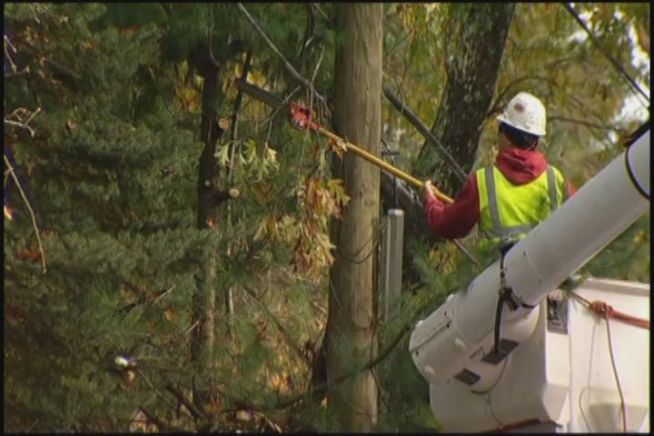 CL&P is trying to prevent another massive outage by trimming trees, but one family asked why is the company taking so long on its promise?  So they turned to the NBC Connecticut Troubleshooters for help.