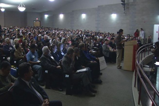 More than 2,000 people attended a Transportation Committee hearing in New Haven on a proposed bill that would grant driver's licenses to undocumented immigrants.