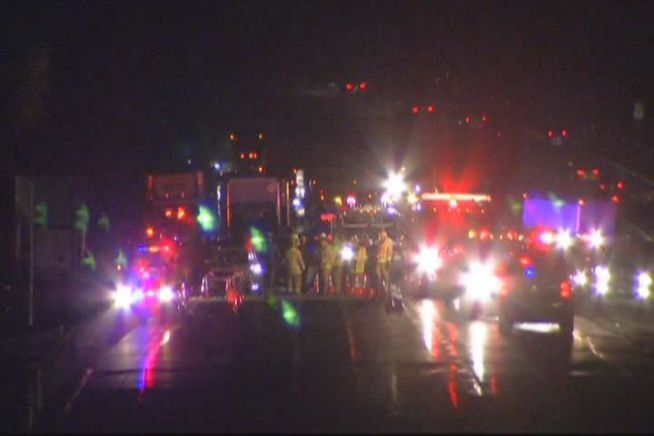 A deadly crash tied up traffic for driver for several hours on I-84 in Middlebury.