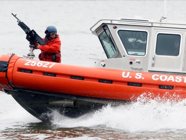 Coast GuardTraining Scare