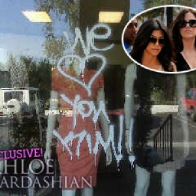Kardashian Sisters' LA Boutique Vandalized Day After Miami Store Hit