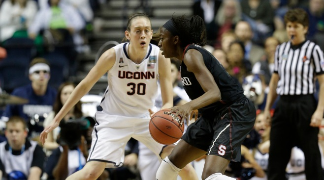UConn Women Defeat South Florida 88-65