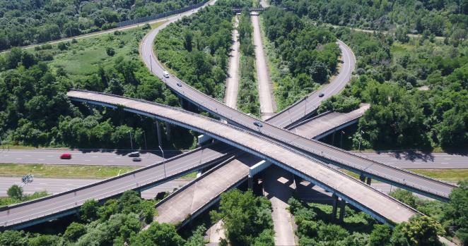 Hidden in Plain Sight Roads to Nowhere: I-84 Interchange
