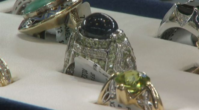Becker's hosted a $3 Million estate sale that featured pieces formally owned by John Wayne, Elizabeth Taylor, and Cher.  Customers had a chance to try on all the bling and bring some home they were willing to pay some hefty price tags.