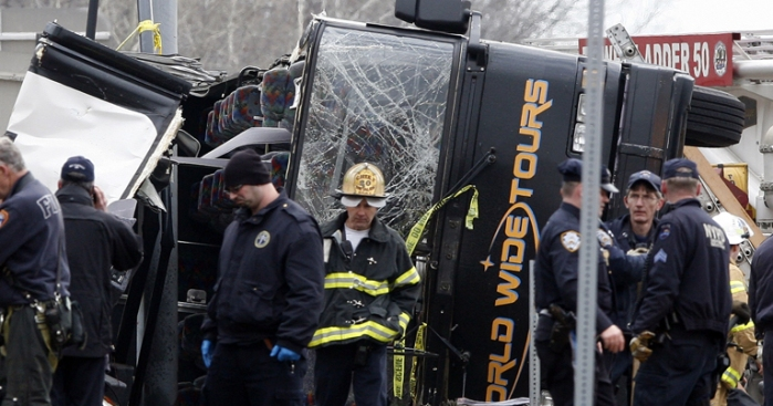 Driver Took Nap in Bus Before Deadly Crash: Officials