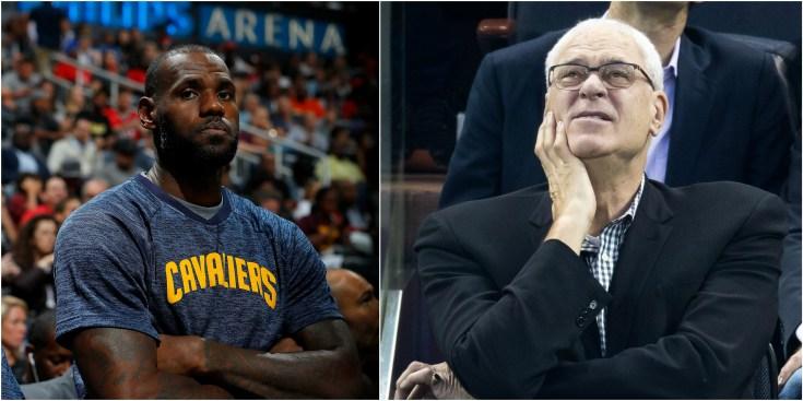 LeBron James Slams Phil Jackson for 'Posse' Comment