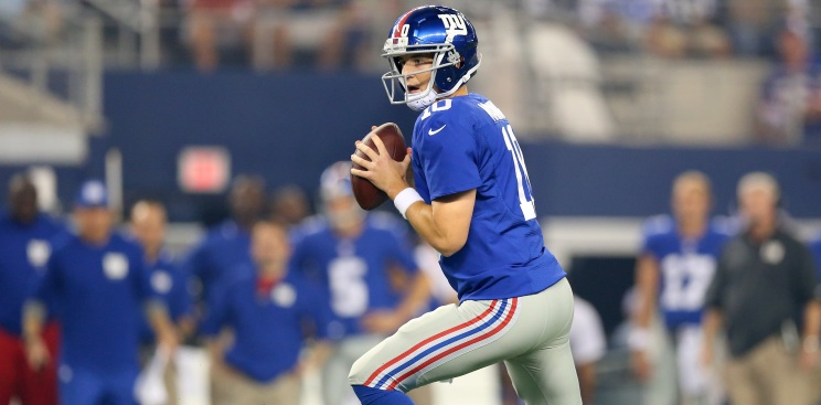 Giants' Passing Game Should Have Some Fantasy Value Down The Stretch