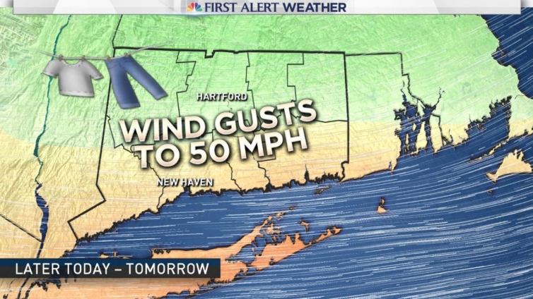 Wind Advisories Issued for Central, Eastern Connecticut