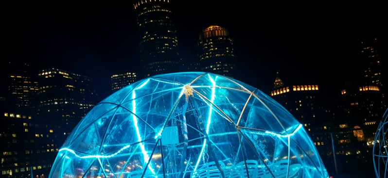 Envoy Hotel Opening Rooftop 'Igloo' Bar