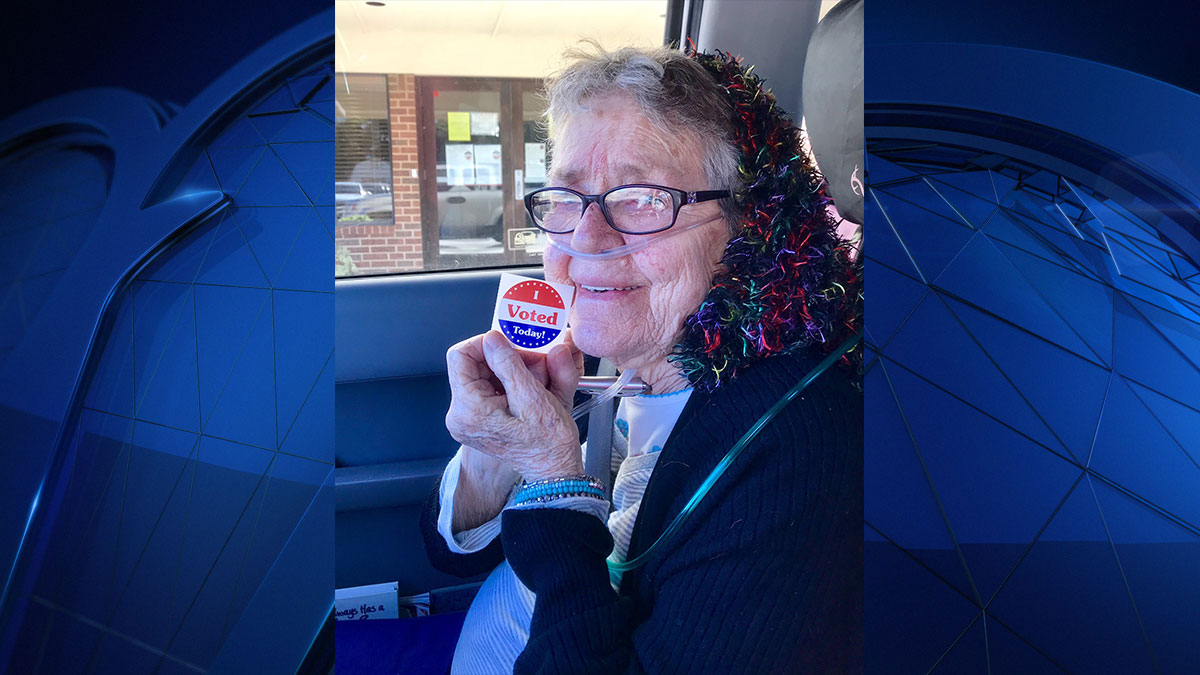 A number of first-time voters will be casting their ballot on Tuesday. One North Texas woman hopes to show others that it is never too late to make your voice count, Sunday, November 4, 2018.