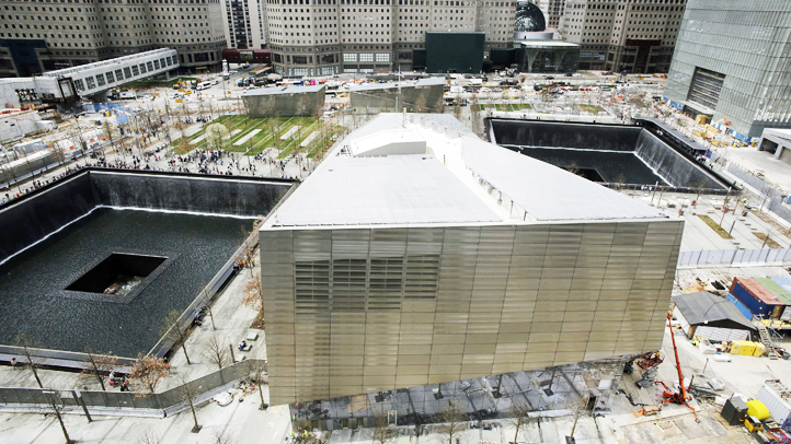 The 9/11 museum opens to families next week and the public on May 21