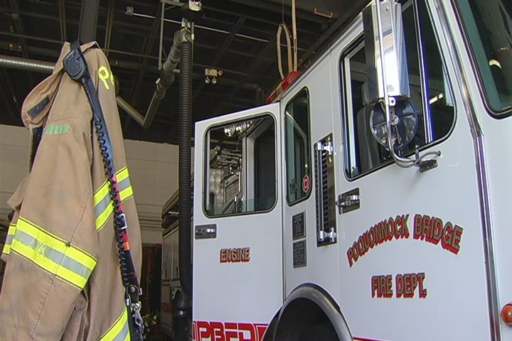 This Groton firehouse is in danger of shutting down due to recent budget cuts.