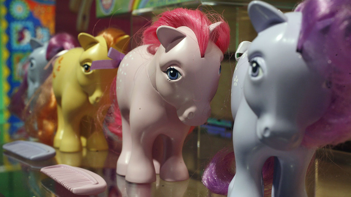 """This images show the original My Little Pony characters. A North Carolina school has banned a 9-year-old boy from carrying his """"My Little Pony"""" lunchbag."""