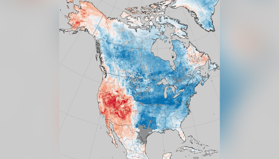 Amid East Coast's Cold Snap, the West Was Extra Warm