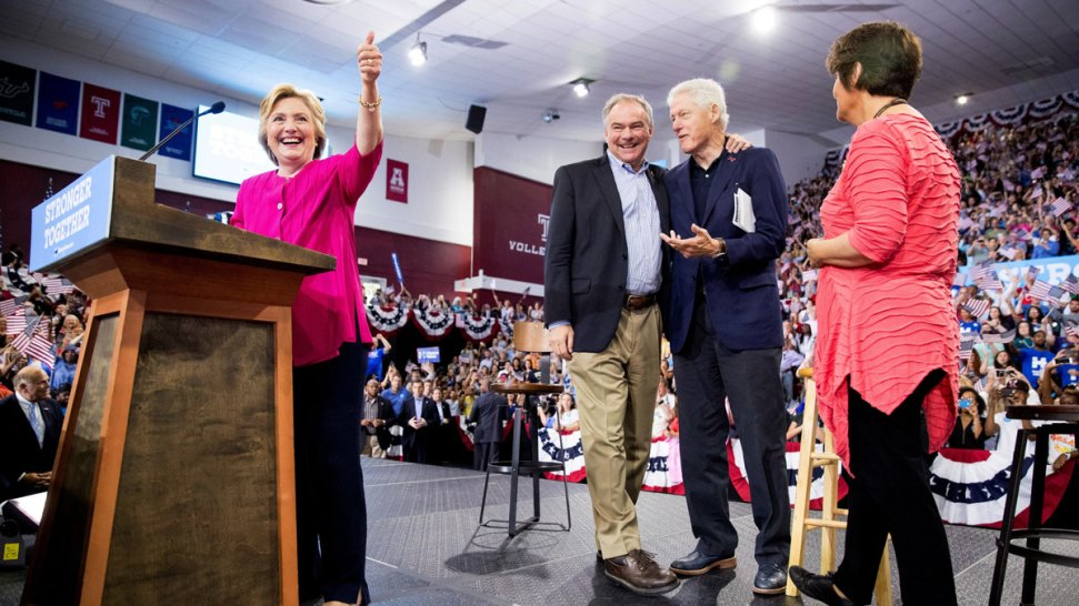 Clinton Roars Against Trump as Hacking Distraction Arises