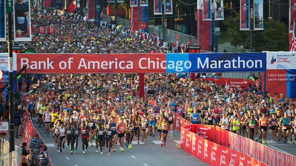 Kenyans Abel Kirui, Florence Kiplagat Win Chicago Marathon