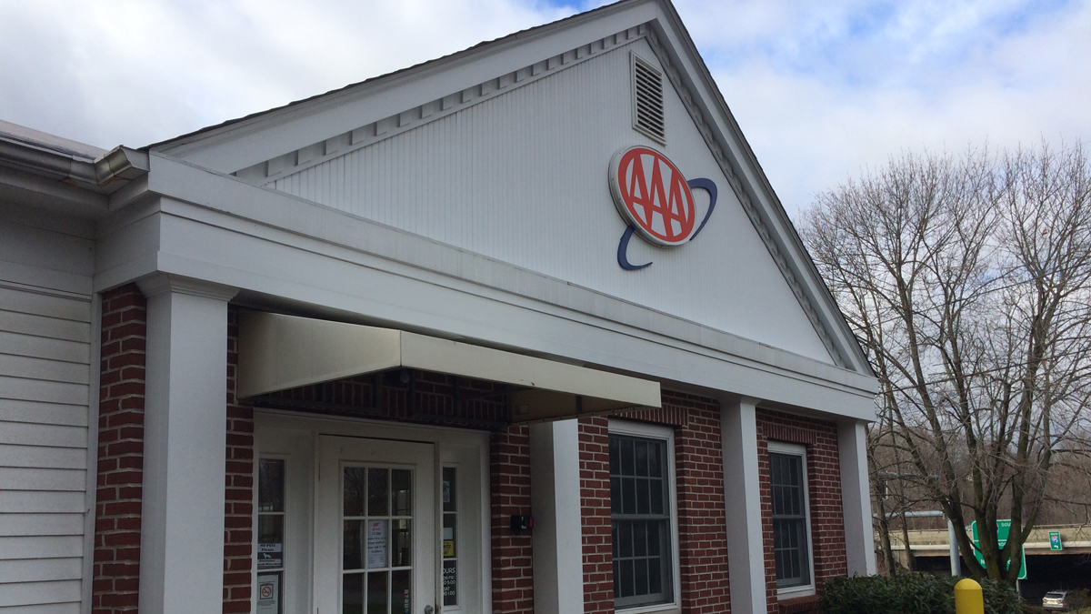 The AAA branch in Branford