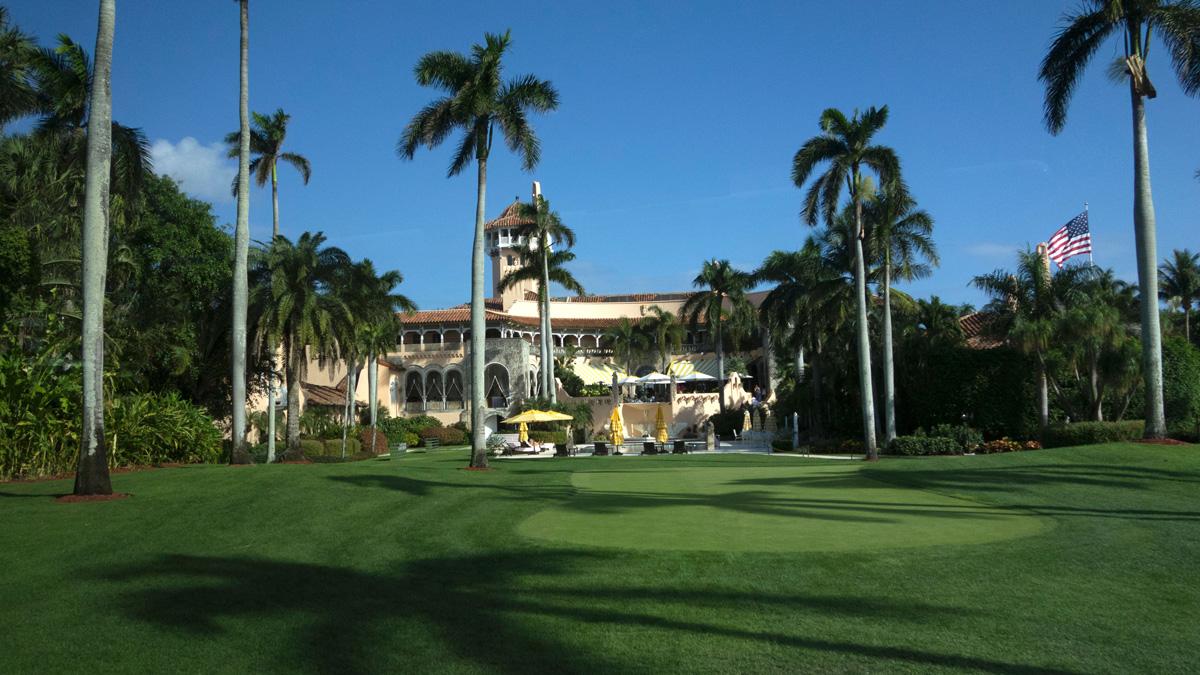 The Mar-a-Lago Club on Jan. 1, 2017, at Mar-a-Lago in Palm Beach, Florida.