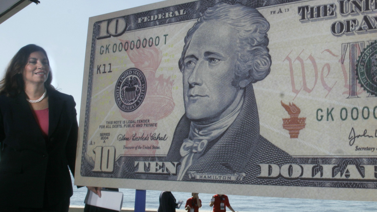 A woman's face will soon grace the $10 bill.