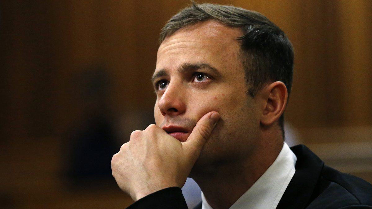 Oscar Pistorius was released from prison into house arrest on Monday Oct. 19, 2015.