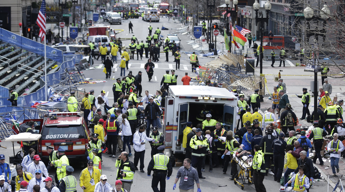 The bombing at the Boston Marathon on April 15 last year killed 3 people and injured some 264 others.