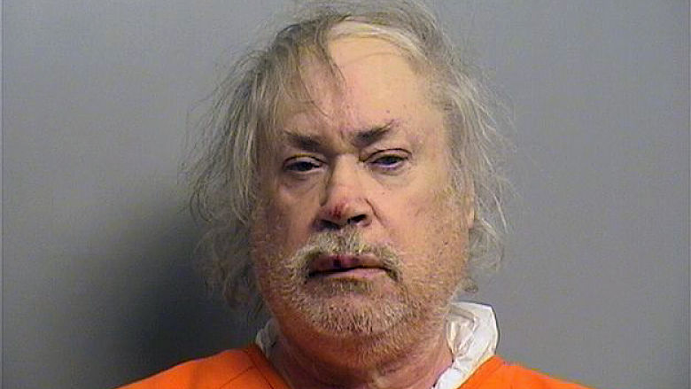 This undated image provided by the Tulsa County Jail shows Stanley Majors. Police say Khalid Jabara was killed at his Tulsa, Okla., home Friday, Aug. 12, 2016, and 61-year-old Stanley Majors is being held without bail on a first-degree murder complaint and possession of a firearm after a felony conviction, but online court records do not show that he has been formally charged. It was not clear if Majors has an attorney to speak on his behalf.