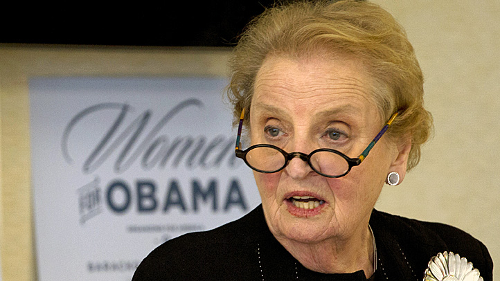 Former Secretary of State Madeleine Albright is now on Twitter.