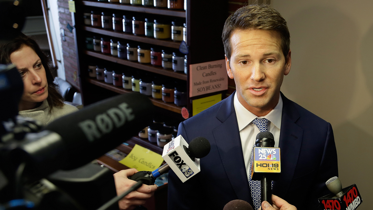 U.S. Rep. Aaron Schock announced his resignation on March 17, 2015.