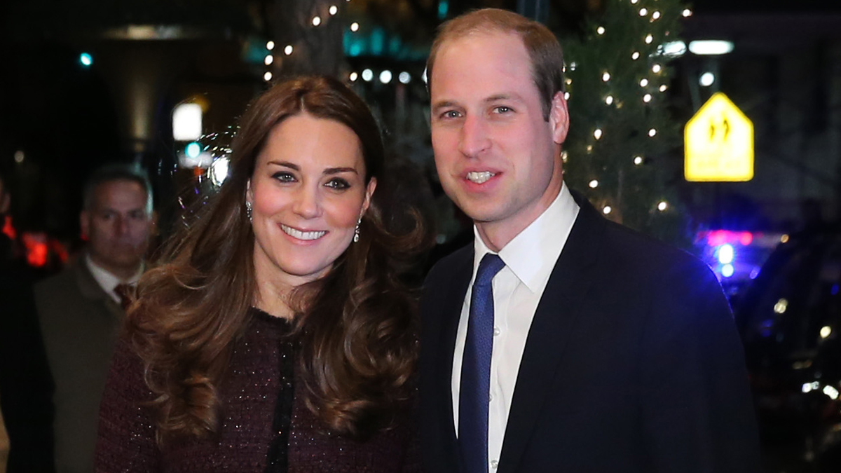 Kate, Duchess of Cambridge and Britain's Prince William arrive at The Carlyle Hotel, Sunday, Dec. 7, 2014, in New York.