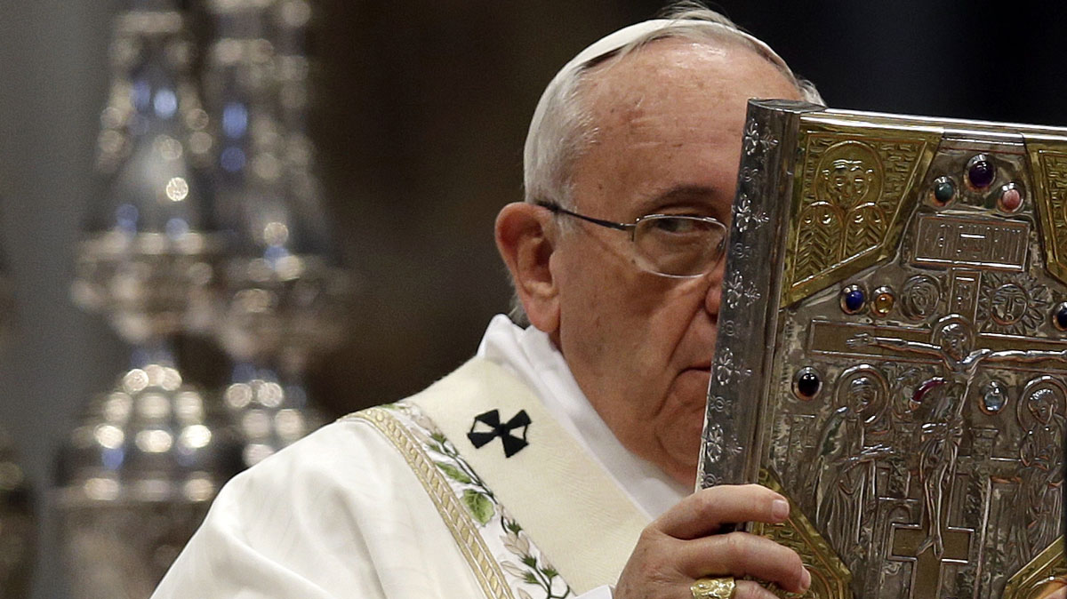 Pope Francis Pope reads plenty but doesn't watch TV.