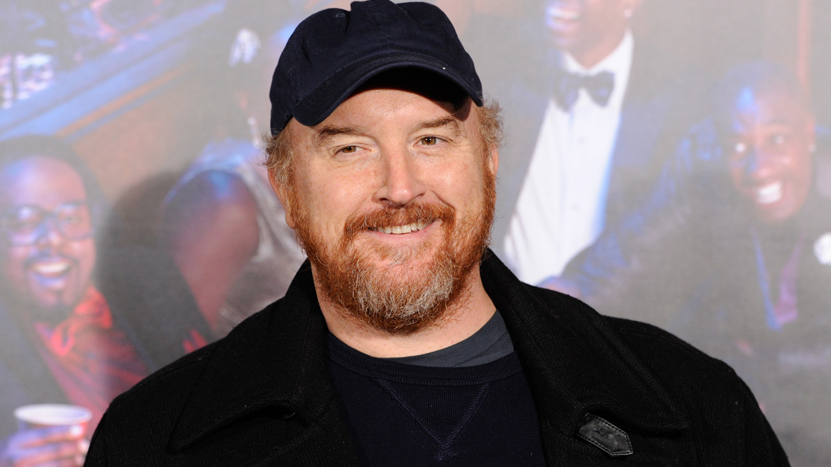 Comedian Louis C.K. attends the premiere of