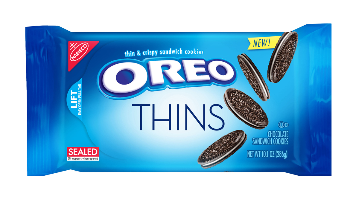 This product image provided by Mondelez shows the packaging design for