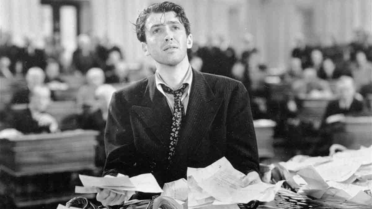 James Stewart famously dramatized the filibuster in the 1939 movie