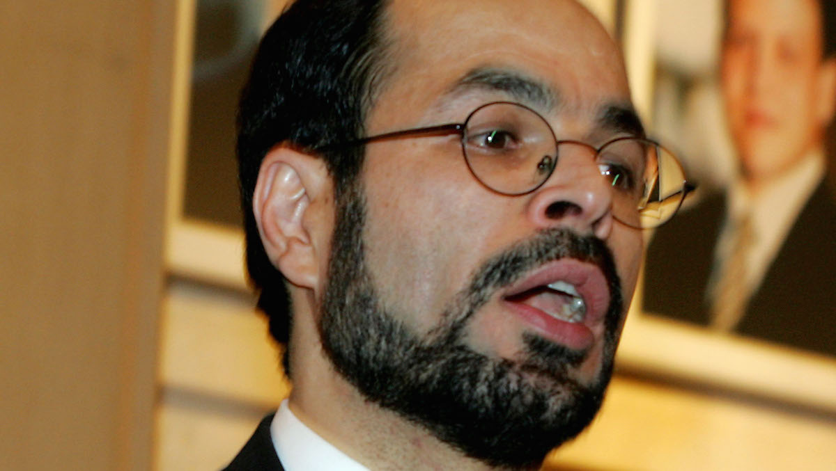 A file photo of Nihad Awad, the National Executive Director of the Council of American-Islamic Relations.