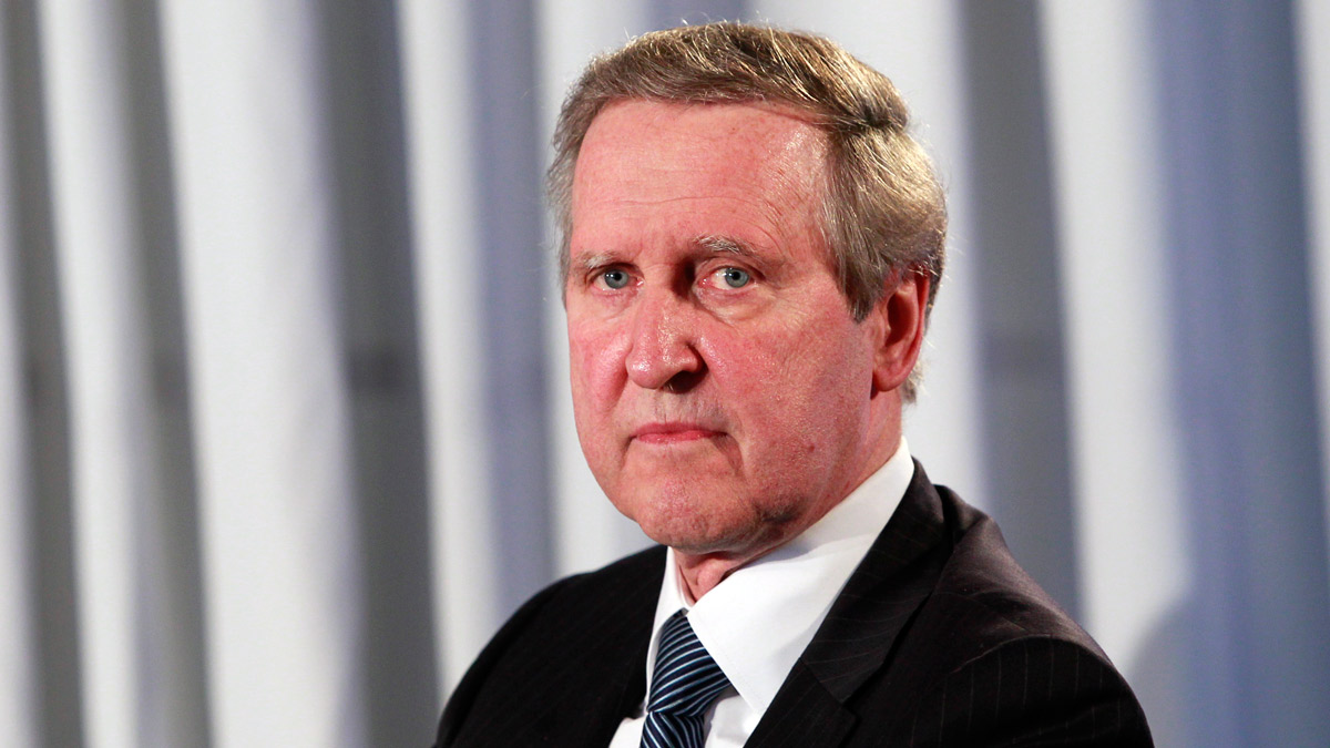 In this June 11, 2012, file photo, William Cohen, former U.S. Defense Secretary, speaks at an event sponsored by The Washington Post to commemorate the 40th anniversary of Watergate. Cohen says he believes North Korea to be the most dangerous problem the world faces.