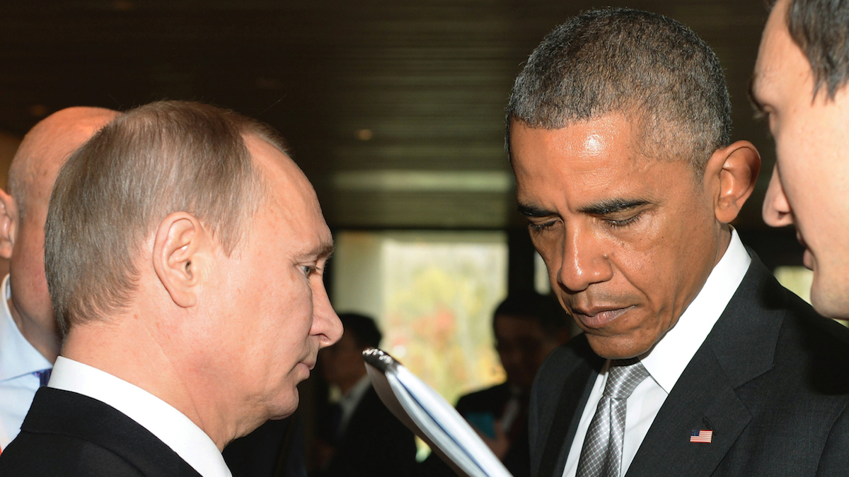 Vladimir Putin will meet with President Barack Obama on Monday Sept. 28, 2015. Putin is to speak to the United Nations General Assembly the same day.