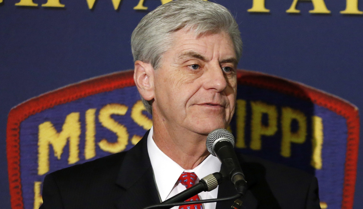 File Photo - Gov. Phil Bryant said he intends to join 11 other states that are suing the Obama administration over a federal directive about transgender students in public schools.
