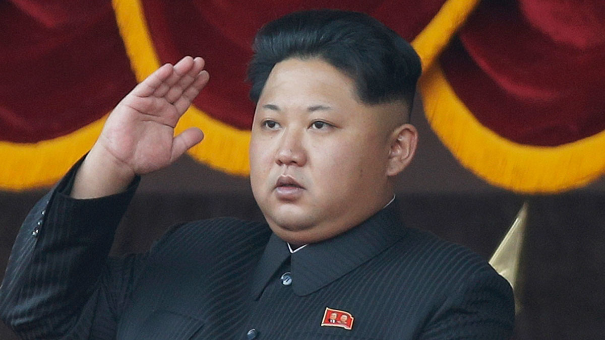 In this Oct. 10, 2015, file photo, North Korean leader Kim Jong Un salutes at a parade in Pyongyang, North Korea.