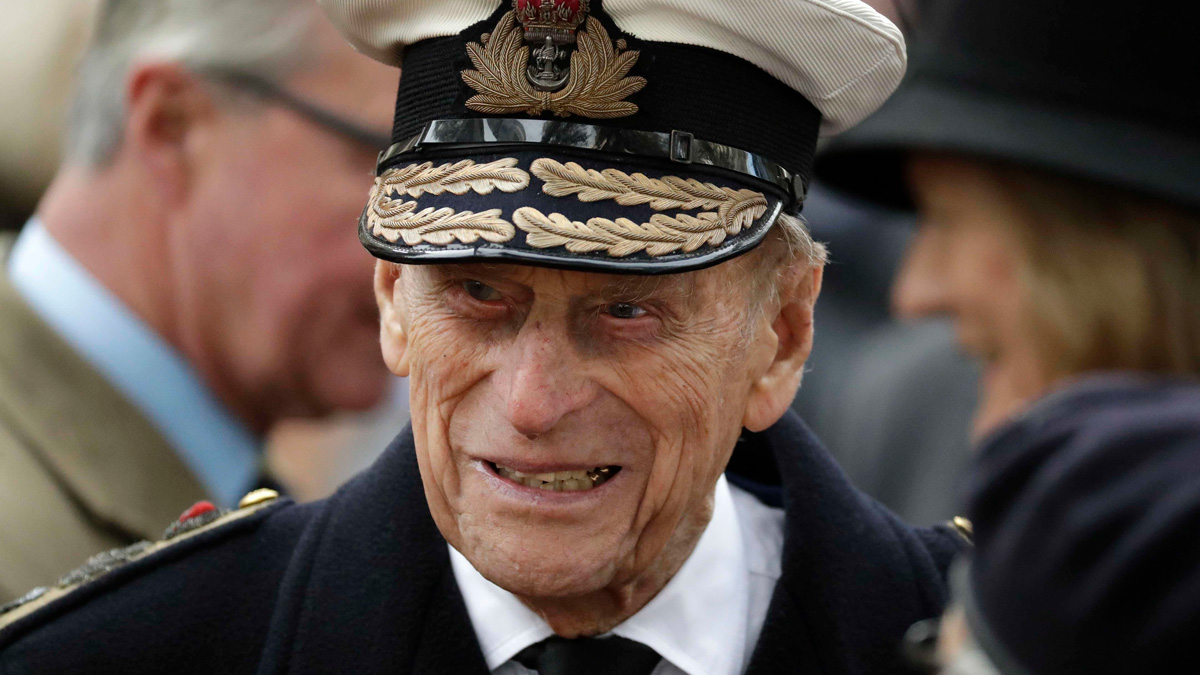 In this Thursday, Nov. 10, 2016 file photo, Britain's Prince Philip, the Duke of Edinburgh, attends the official opening of the annual Field of Remembrance at Westminster Abbey in London.