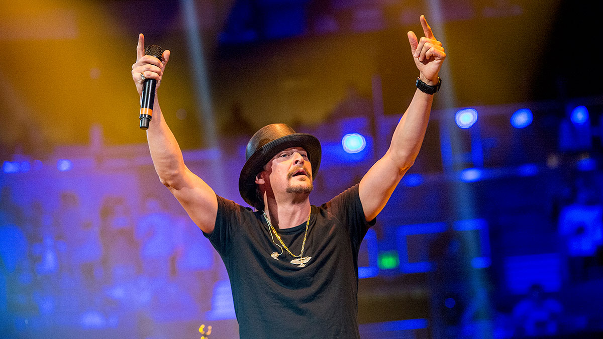 This Nov. 20, 2016, file photo shows Kid Rock in Nashville, Tennessee. on July 26, 2017, the musician announced he is creating a nonprofit to promote voter registration and further teased a potential bid for U.S. Senate in 2018.