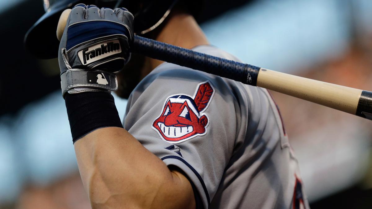 The Cleveland Indians logo.