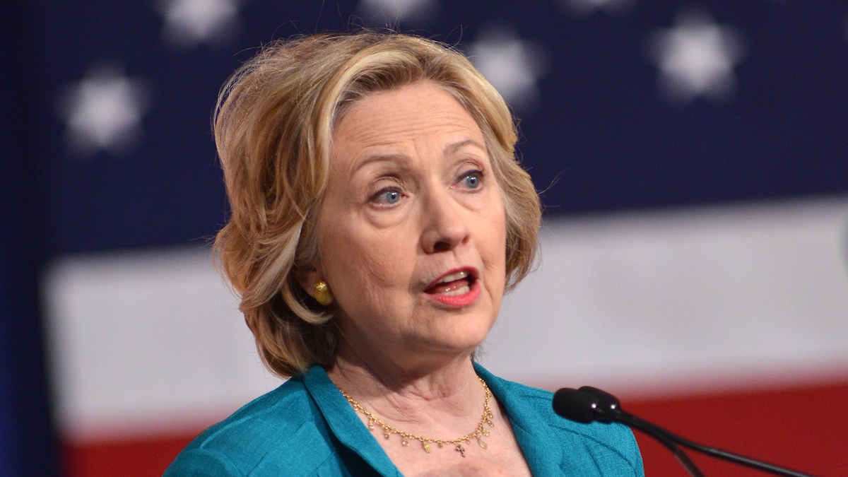 This file image shows Democratic presidential candidate, former Secretary of State Hillary Rodham Clinton during a campaign stop at Florida International University in Miami on Friday, July 31, 2015.
