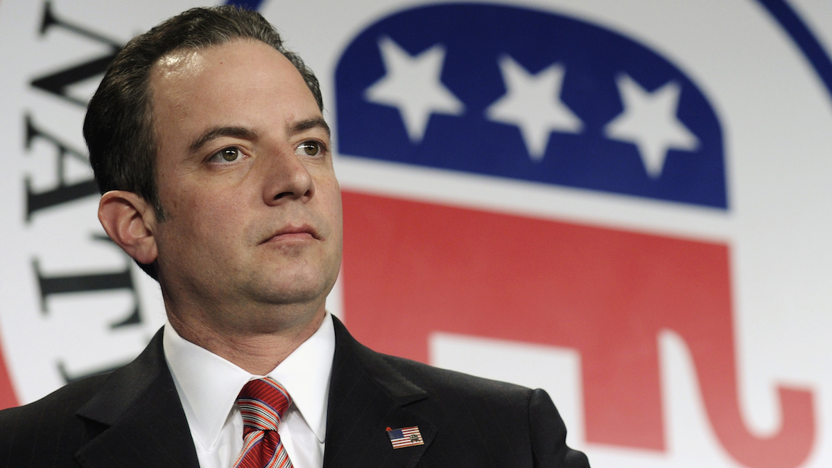 FILE - In this Jan. 24, 2014 file photo, Republican National Committee Chairman Reince Priebus.