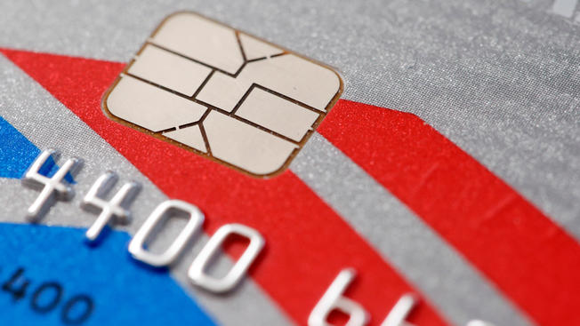 Have you received a chip-based credit card?