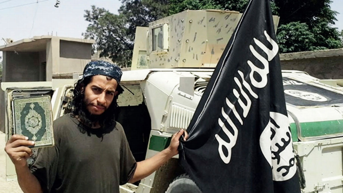 This undated image made available in the Islamic State's English-language magazine Dabiq, shows Belgian Abdelhamid Abaaoud. The suspected lynchpin of the Paris terror attacks, Abaaoud was killed in a police raid outside Paris on Nov. 18, 2015, prosecutor's office said.