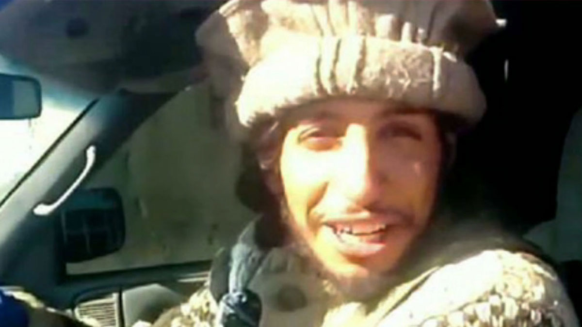 This undated image taken from a Militant Website on Monday Nov. 16, 2015 showing Belgian Abdelhamid Abaaoud. A French official says Abdelhamid Abaaoud is the suspected mastermind of the Paris attacks was also linked to thwarted train and church attacks.