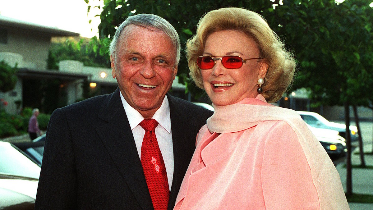 In this file photo, Frank Sinatra and his wife Barbara arrive at Our Lady of Malibu church to renew their wedding vows on their 20th wedding anniversary Thursday, July 11, 1996 in Malibu, Calif.